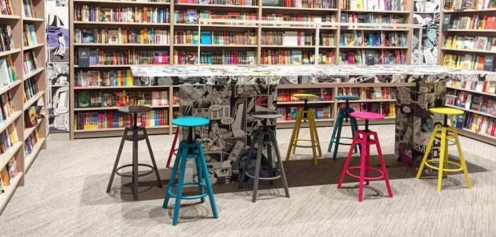 Children's Section of Indigo Bookstore in Short Hills Mall of Short Hills, NJ
