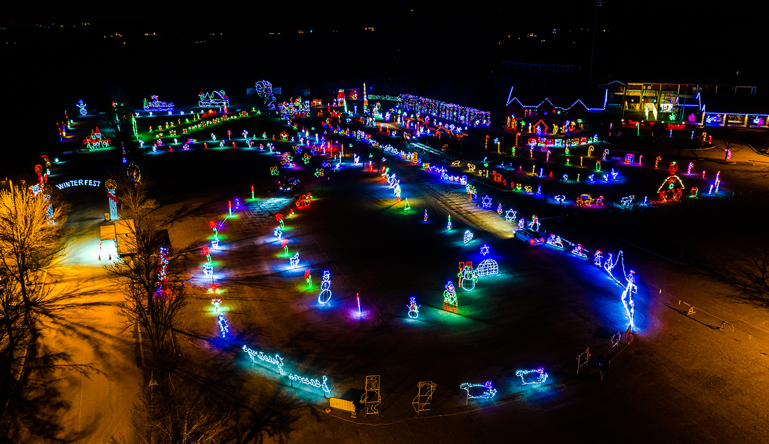 pnc bank arts center lights