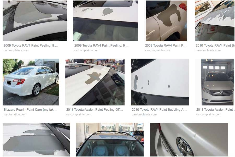 Toyota's Blizzard Pearl Paint – Maybe It's Them and Not You