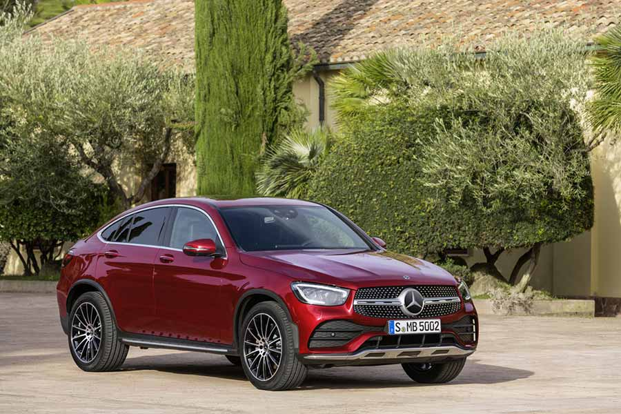 The Mercedes-Benz GLC Coupe Is Redesigned