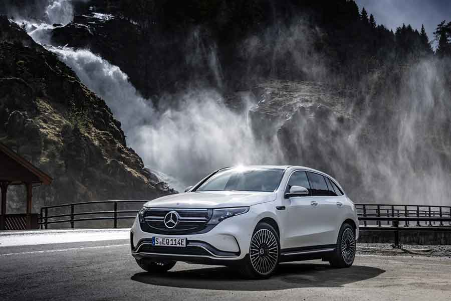 You can now go fully electric with Mercedes.