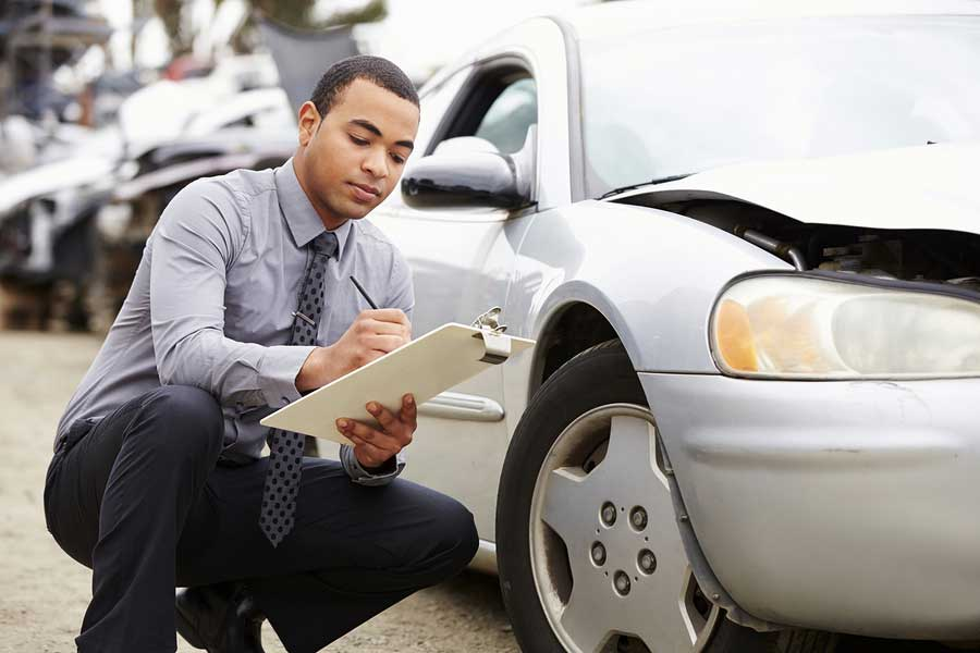 Your mechanic can handle everything with the insurance company.