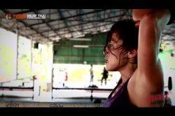Fight Girl Jennifer Tate trains @ Tiger Muay Thai & MMA