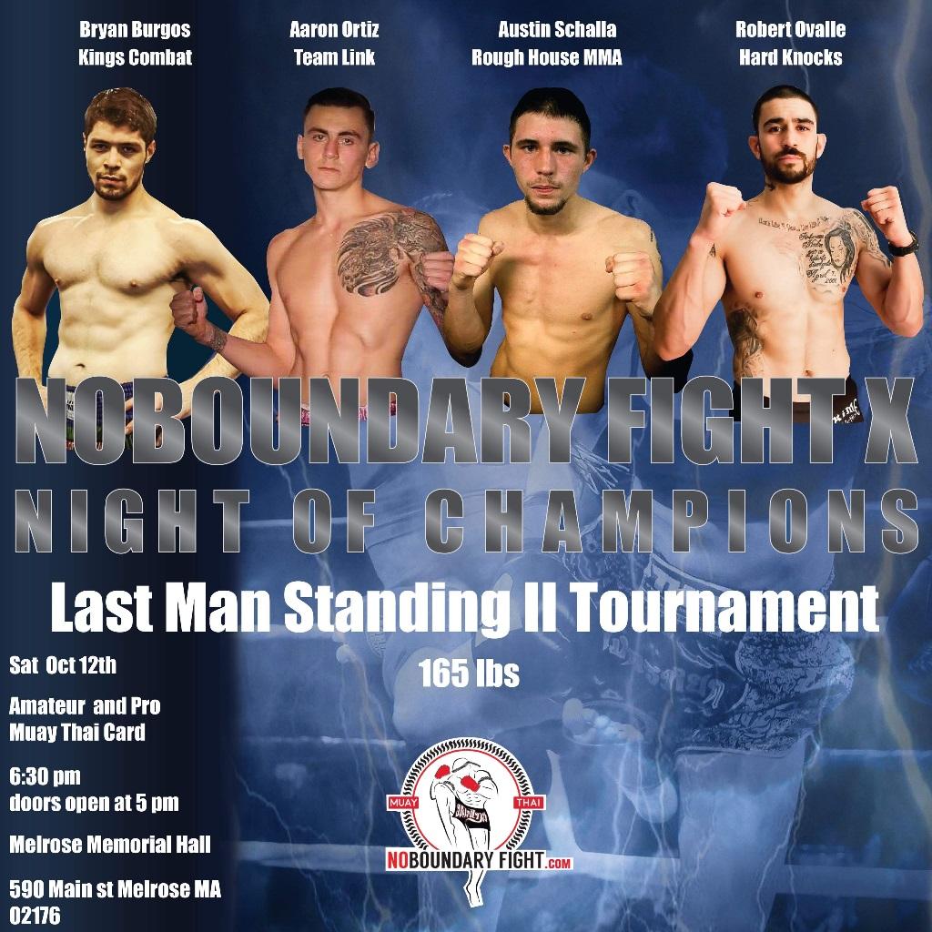 NoBoundaryFight | Multi Martial Arts Fights (Muay Thay, MMA