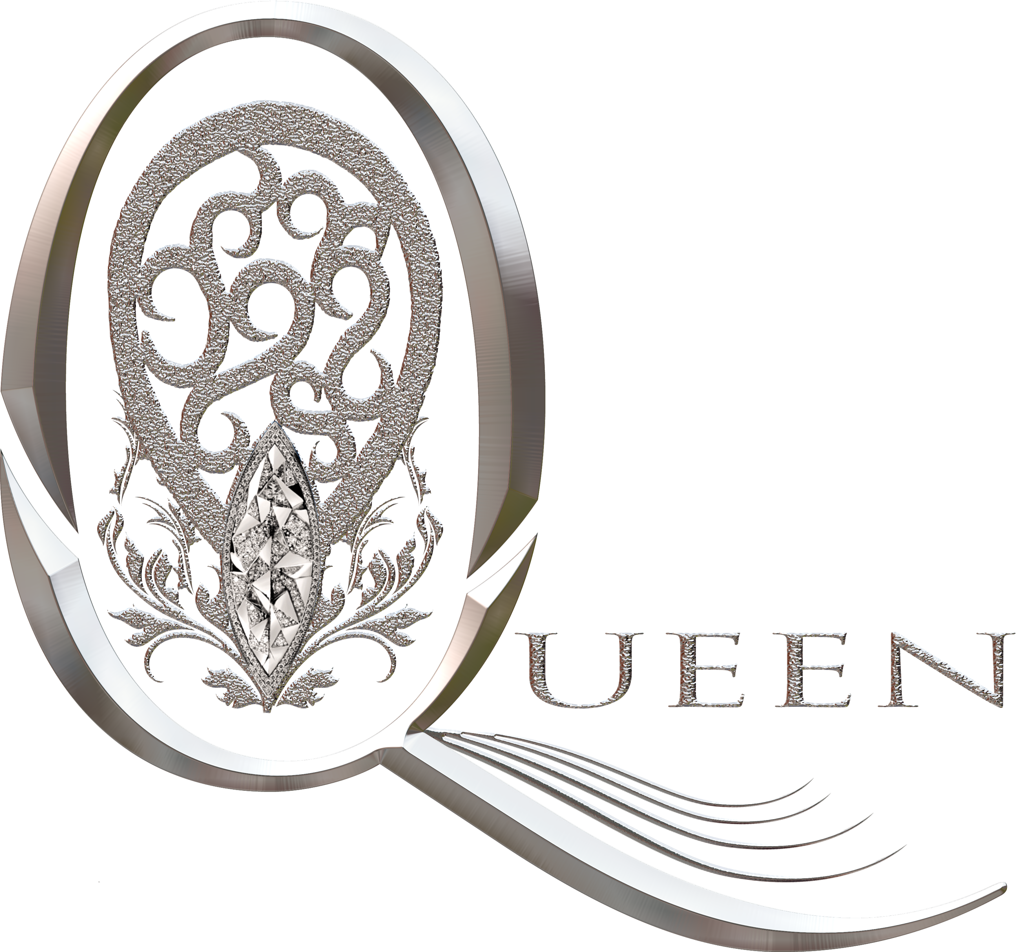 QUEEN LOGO E LAYERED