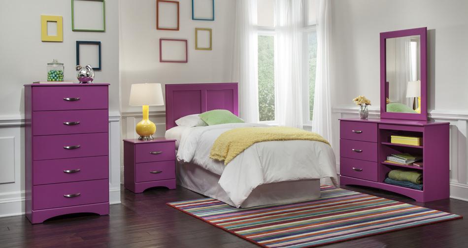 Children\'s Bedroom Set - Raspberry