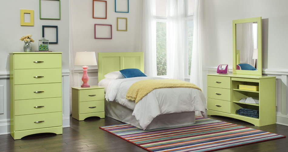 Union Furniture Bedroom 175 Lemon-Lime