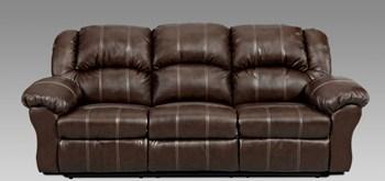 union furniture 1003 brandon brown reclining sofa