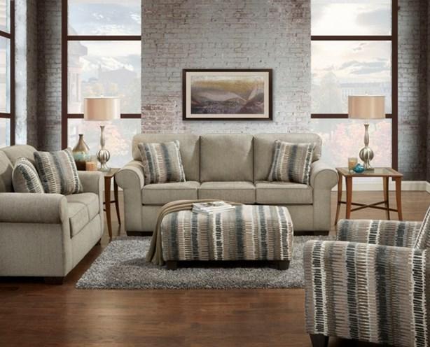 Union Furniture Livingroom 3400 Heather Grey