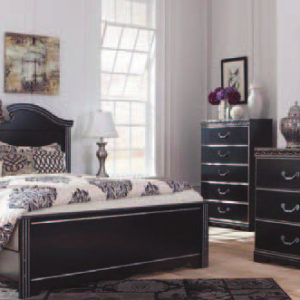 Union Furniture Bedroom Queen Black