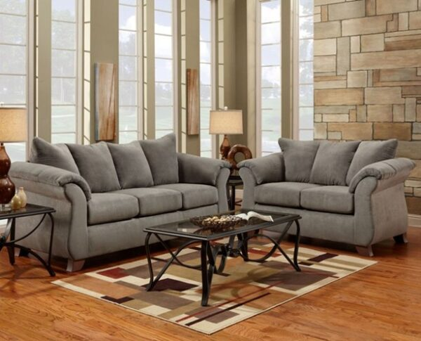 Union Furniture living room grey