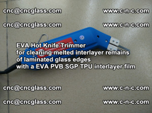 EVA HOT KNIFE TRIMMER for cleaning EVA PVB SGP TPU overflowed remains in laminated glass (12)