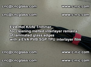 EVA HOT KNIFE TRIMMER for cleaning EVA PVB SGP TPU overflowed remains in laminated glass (14)