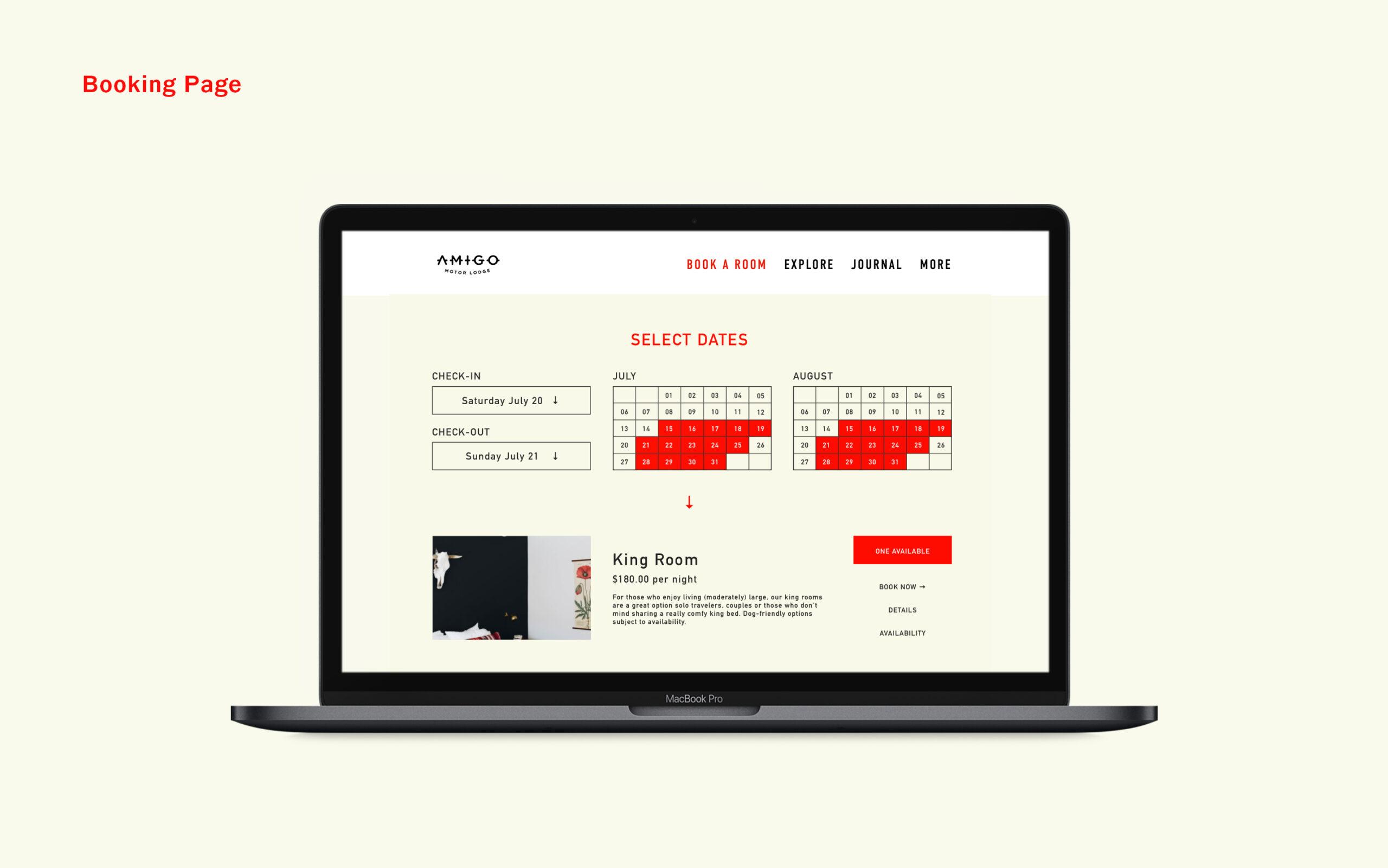 Amigo-03-Booking