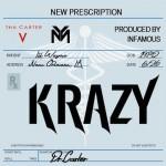 """New Lil Wayne """"Krazy"""" #CarterV (Audio)."""