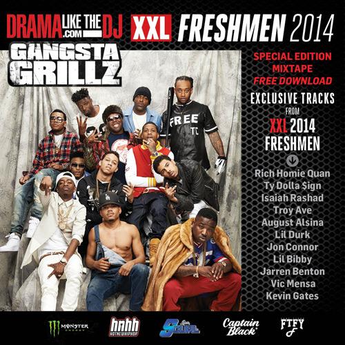 the 2014 XXL Freshmen Mixtape