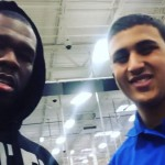 "50 Cent buys out Trey Songz new ""trigga""ablum at best buy in Pittsburgh ."