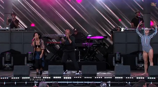 common ft Jhene Aiko Perform Blak Majik
