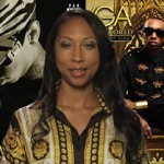 Famous rapper Tyga Mom reads some of his lyrics from his song 'Rack City'.