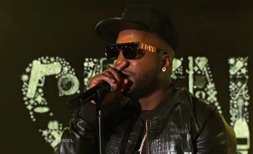 jeezy performs live on jimmy kimmel