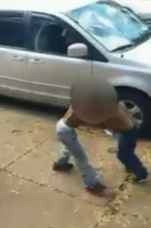 Facebook Video shows children fighting & adults cheering are being investigated.