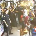 "Police pepper-spraying women who just wanted cheap hair Weave. ""Unbeweavable""."