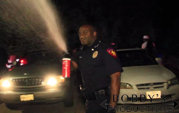 Texas Police Officer Pepper Sprays College Student For Filming Him!