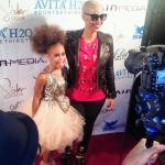 """Amber Rose Talks About Being Single and Her New Movie """"Sister Code""""."""