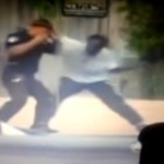 Video: Black Man Disarms & Catches Vicious Fade With a Police Officer.