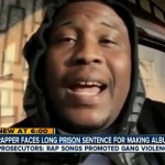 Man with no record facing a lifetime behind bars For His Rap Album.