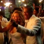 Video: Jay-Z & Beyonce dance & laugh during Solange's Wedding.