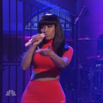 Nicki Minaj performs Bed Of Lies, Only, and All Things Go (Live Saturday Night Live).