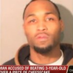 Man breaks his 3-yr-old son's Leg for eating the last slice of cheesecake.