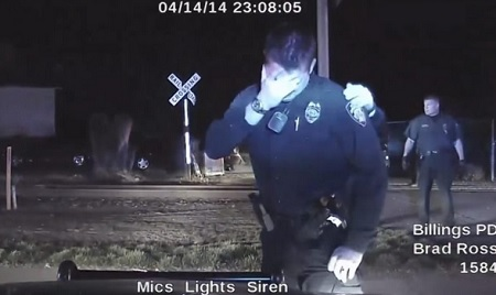 Shows Officer break down in tears After Killing Unarmed Man