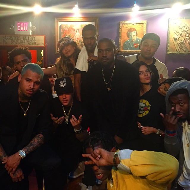 Big Sean Brings Out Kanye West, J. Cole, Meek Mill & Travis Scott In L.A