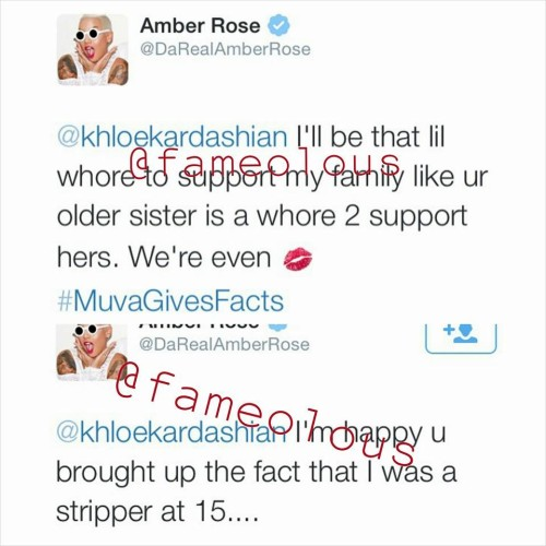 Khloe Kardashian fights back after Amber Rose disses Kylie Jenner