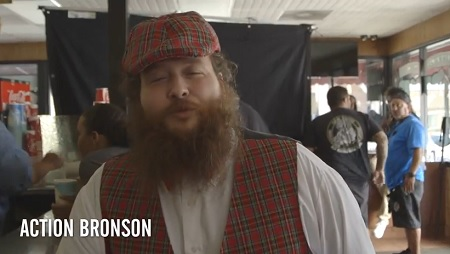 Action Bronson Ft. Chance the Rapper - Baby Blue Video