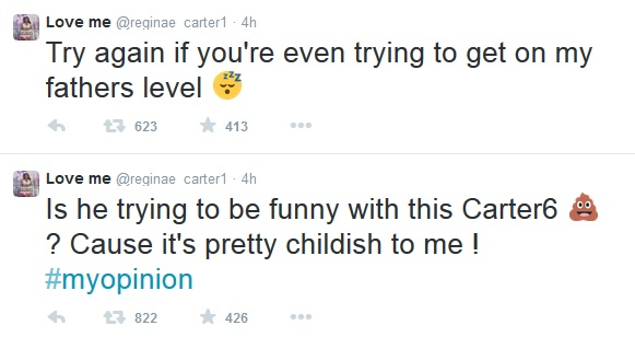 Reginae Carter Disses Young Thug For Cater 6. 1