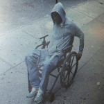 (How Did He Pull This Off?) Man in wheelchair robs bank.