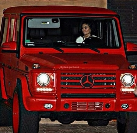 Happy Birthday Tyga Gives Kylie a car, that once belonged to his ex Blac Chyna