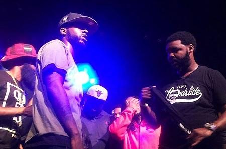 Watch: Tay Roc Vs Calicoe (Rap Battle)