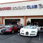 Video: (All Gone) Floyd Mayweather's Cars caught on fire..