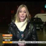 Crazy Man Flashes Gun On Live TV During Weather Report!