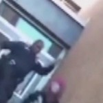 Baltimore School Office Kicks and Slaps a High School Student