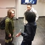 SMH: Black Female Harass White student For Having Dreadlocks!