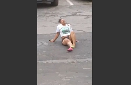 Caught her boyfriend cheating and his side girlfriend ran her over