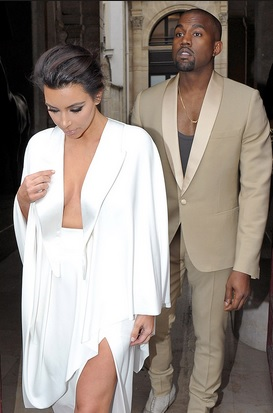 Kanye West Surprises Kim Kardashian With Private Orchestra