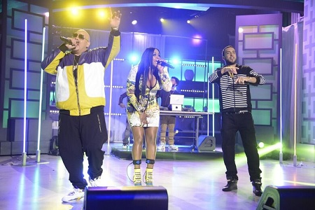 Remy Ma Fat Joe & French Montana Performs All The Way Up