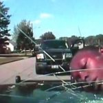 WTF: Ohio Police Officer Slams Suspect's Head Into The Windshield