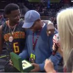 Good Deeds: Rapper Gucci Mane Gives Away Rolex To Lucky Fan at Hawks Game